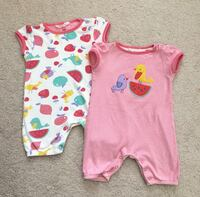 2 baby one pieces size 18-24 months Mississauga, L5M 0C5