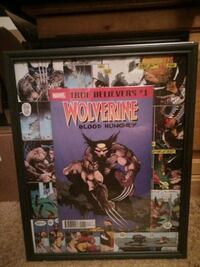 Wolverine Blood Hungry comic book picture Edmonton, T5P 1T6