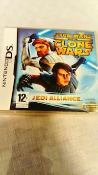 Nintendo DS Star Wars Clones Wars Jedi Alliance spelväska