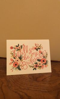 Will you be my bridesmaid? (4) Cards