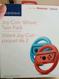 Insignia wheel twin pack - nintendo switch  Burnaby