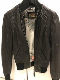 Aritzia leather jacket Markham, L3R