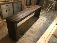 Handcrafted Side Table  New Orleans