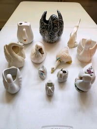 Swan and duck figurines