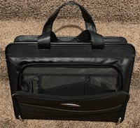 Leather briefcase Hudson, 01749