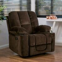 Chocolate Brown Leather Recliner Falls Church