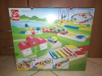 Hape rainbow route railway and station set  Altopascio, 55011