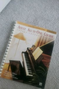 Piano adult all in one course