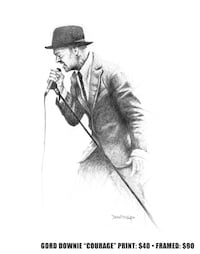 Gord Downie drawing  Beaumont, T4X 1C6
