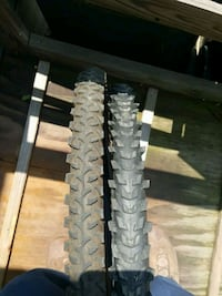 two bicycle tires size 26x1.95 mountain bike  Plainfield, 07062