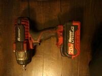 Bauer impact drill and angle grinder Shoreline, 98133