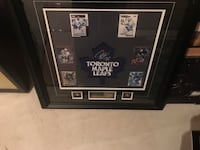 Tie domi autographed picture in frame