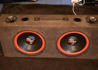 """Two 10"""" Pyramid Subs in Ported Box Kitchener, N2M 2G9"""