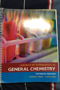 Lab experiments in general chemistry