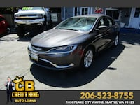 2015 CHRYSLER 200 Limited Seattle, 98125