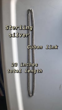 Sterling silver chain Havertown, 19083