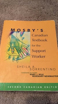 Mosby's canadian textbook for the support worker by sheila sorrentino