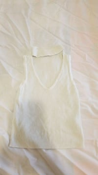 women's white sleeveless top Surrey, V3S 2M9