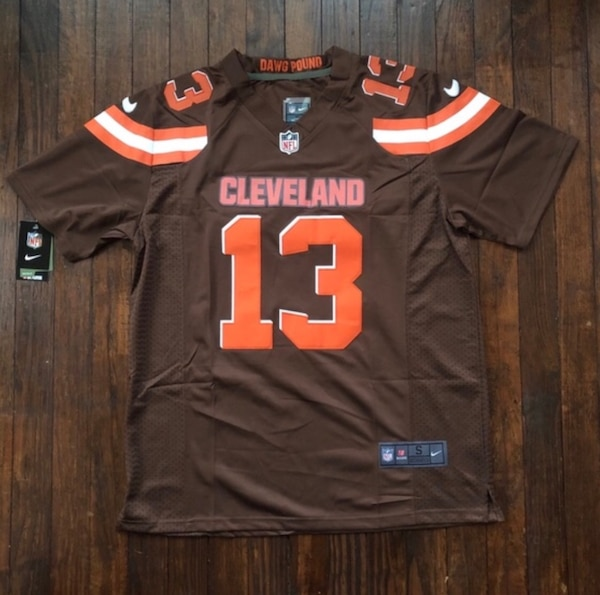 best website ba012 69efb Odell Beckham Jr. Cleveland Browns Stitched Jersey New