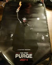 The First Purge Malco Theater Poster Cleveland, 38732