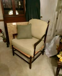 Chair with cushions