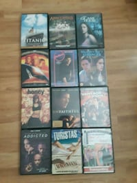 Variety movies $4 each Roseville, 95747