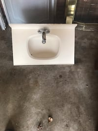 white ceramic sink with faucet Greenville, 27834