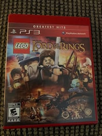 The Lord of The Rings LEGO PS3  Mississauga, L5N