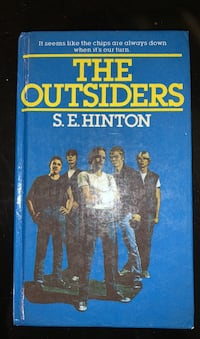 Book: The Outsiders by S.E. Hinton
