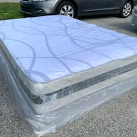 new full mattress and box spring 2 pc  West Palm Beach