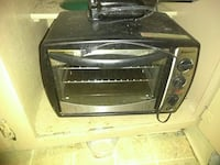 gray and black toaster oven