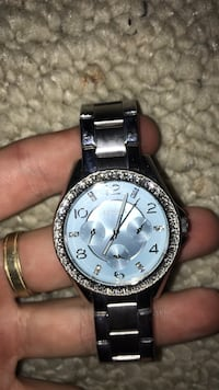 Fossil diamond and silver watch Spruce Grove, T7X 1E5