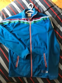 MENS BLUE ADIDIAS ZIP UP SIZE SMALL Montréal, H4N