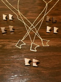 Minnesota necklaces and earrings  Oakdale, 55128
