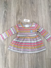 New GAP long-sleeved baby girl dress 12-18m Gatineau, J9A