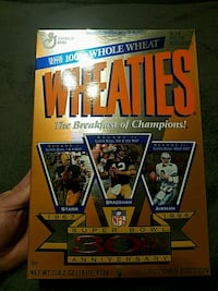 Wheaties the breakfast of champions Derby, 67037