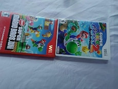 two Super Mario Nintendo Wii games