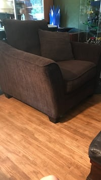 Chocolate brown sofa couch   Coquitlam, V3J 6G6