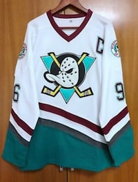 Classic Mighty Ducks Hockey Jersey - Size M (fits like a small) New Orleans, 70122