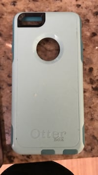 otterbox iphone case fits 6 or 7 mint green Louisville, 40214