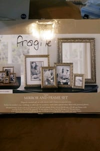 Home Trends 5 piece mirror and frame set Bunker Hill, 25413