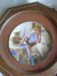Boy in bed with bear painting Nottingham, 21236