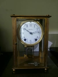 Brass table clock Apopka, 32712
