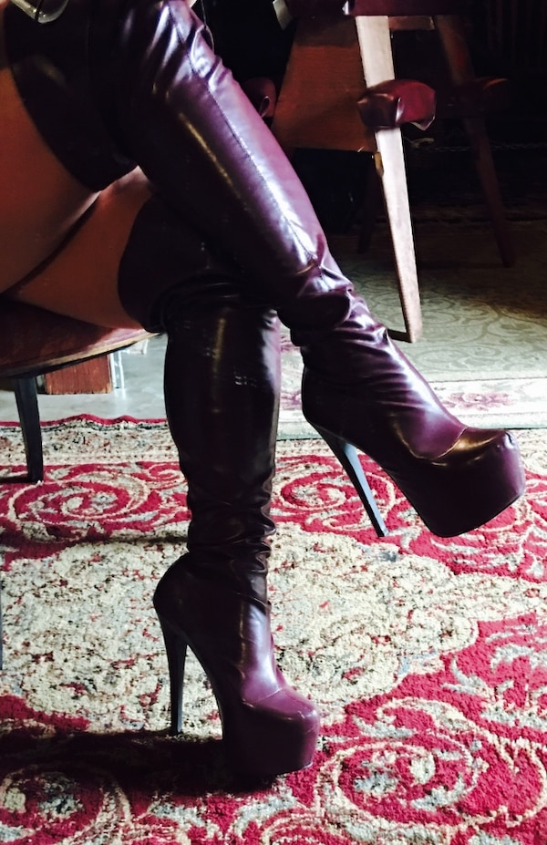 862203042f75 Used Fetish boots belonging to a dominatrix for sale in Los Angeles ...