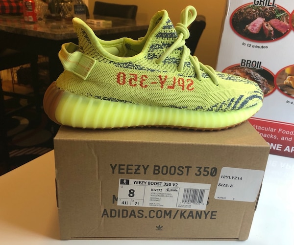 6ded6f548 Used Pair of green adidas yeezy boost 350 on box for sale in Atlanta ...