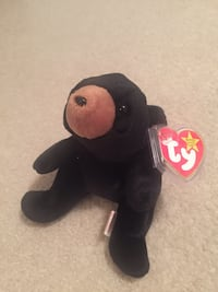 "Rare Ty Beanie Babies ""Blackie"" 1st Edition Date of Birth-July 15th 1994 Wichita, 67216"