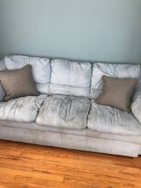 Gray fabric 3-seat sofa Youngstown, 44512