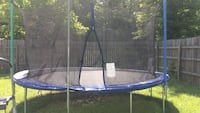 Blue and black trampoline with enclosure Louisville, 40272