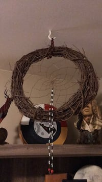 Christmas Dreamcatcher Wreath- Indigenous Made  Calgary, T3B 0V9