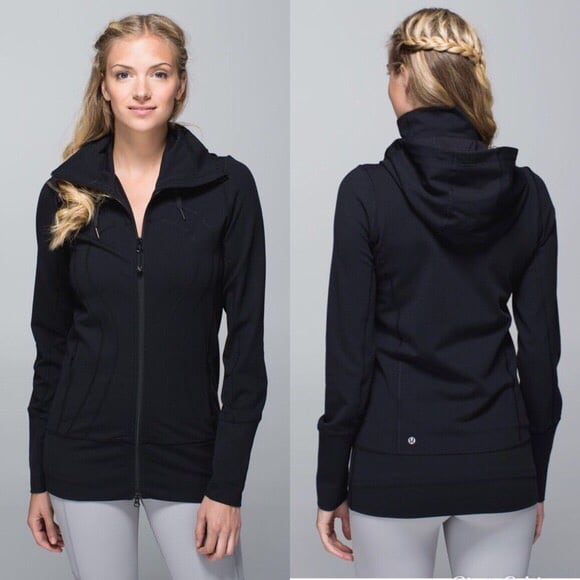 New black Lululemon stride jacket ll size  6